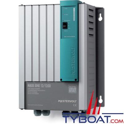 Mastervolt - Convertisseur de batterie - Mass Sine 12 Volts /1200 Watts (230V/50Hz)