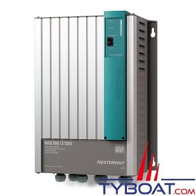 Mastervolt - Convertisseur de batterie - Mass Sine 12 Volts /2000 Watts (230V/50Hz)