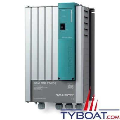 Mastervolt - Convertisseur de batterie - Mass Sine 12 Volts /800 Watts (230V/50Hz)