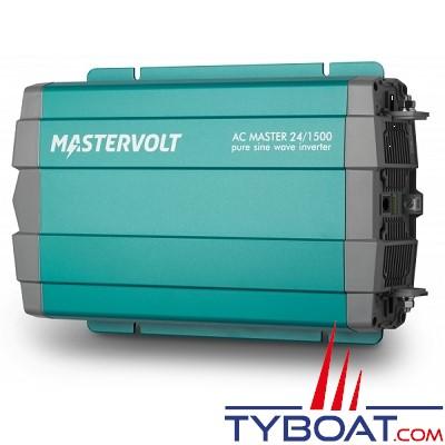 Mastervolt - Convertisseur sinusoïdal - AC MASTER - 24 Volts - 230 Volts - 1500 Watts