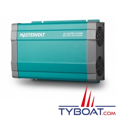 Mastervolt - Convertisseur sinusoïdal - AC MASTER - 24 Volts - 230 Volts - 2500 Watts