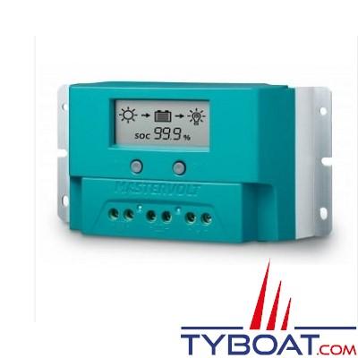 Mastervolt - Régulateur de charge pour panneaux solaires - SCM20 - 12/24 Volts - 20 Ampères - IP23