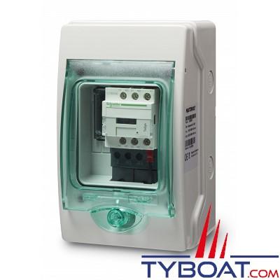 Mastervolt - Système de commutation AC 230 Volts - IP55 - MASTERSWITCH 10 kW - 2 Entrées - 1 sortie