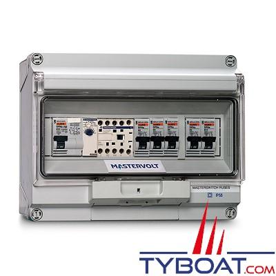 Mastervolt - Système de commutation AC 230 Volts - IP55 - MASTERSWITCH FUSES 5 kW - 2 Entrées - 2 sorties