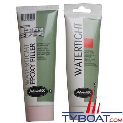 mastic epoxy nautix watertigh s chage rapide tube 0 25 litre nautix tyboat com. Black Bedroom Furniture Sets. Home Design Ideas