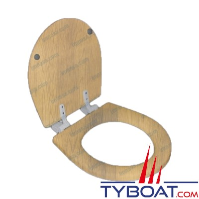 Matromarine - Abattant pour WC: Ref. 70250059/70250061/70250062 Bois