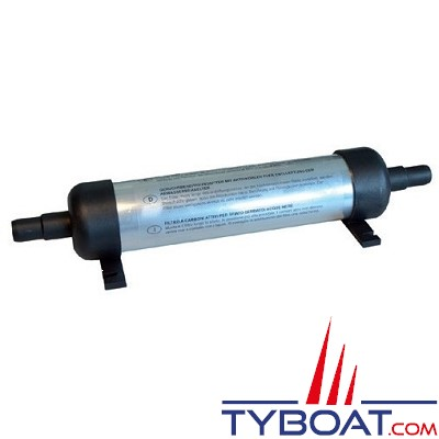 MATROMARINE - Filtre anti-odeur - Ø 60 mm Longueur 300 mm