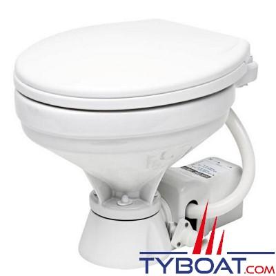Matromarine - WC électrique confort - Fermeture douce - cuvette porcelaine - 24 Volts