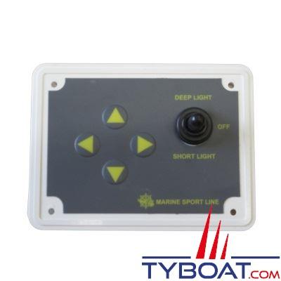 Panneau de contrôle pour projecteur de recherche 24 volts