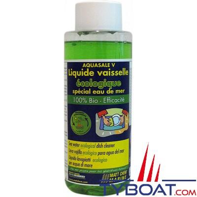 Matt Chem Marine - AQUASALE  V - Liquide vaisselle spécial eau de mer - 500 ml