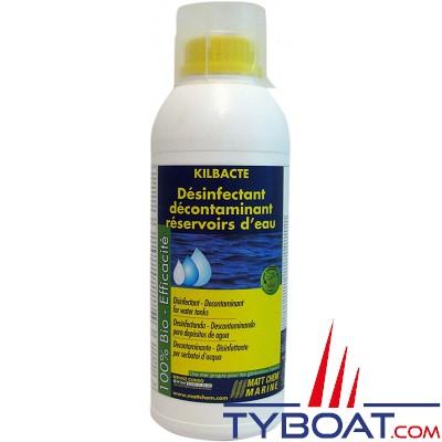 Matt Chem Marine - KILBACTE - Traitement assainissant réservoirs eaux propres - 1 litre