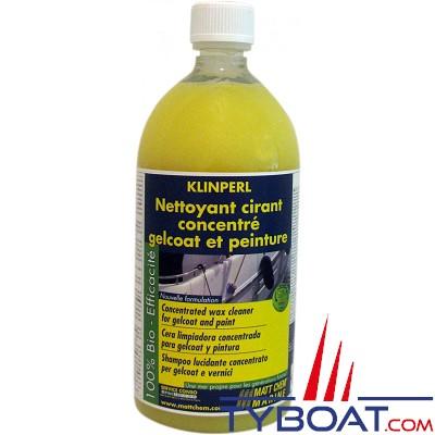 MATT CHEM - KLINPERL - Nettoyant concentré cirant coques et ponts - 1 litre