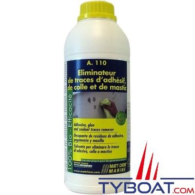 MATT CHEM MARINE - A.110 - Eliminateur de trace d'adhésif et de colle - 500 ml