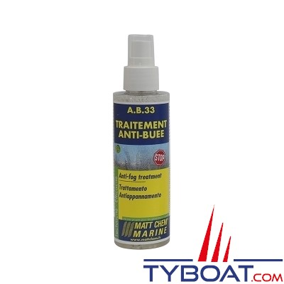 Matt Chem Marine - A.B.33 - Traitement anti-buée - Spray 150 ml