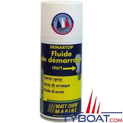 Matt Chem Marine - DEMARTOP - Fluide de démarrage - Aérosol 150 ml