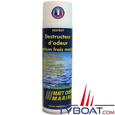 MATT CHEM MARINE - DESTROY - Destructeur d'odeur - Aérosol 500 ml