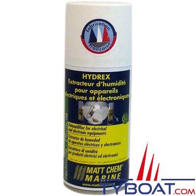 Matt Chem Marine - HYDREX - Extracteur d'humidité pour matériel électrique & électronique - 150ml