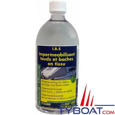Matt Chem Marine - I.B.S - Imperméabilisant tauds et baches - 1 litre