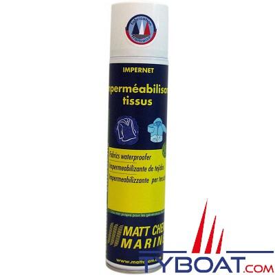 Matt Chem Marine - IMPERNET - Imperméabilisant tissus - Aérosol 300 ml