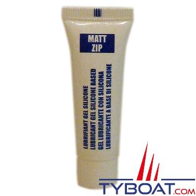 Matt Chem Marine - MATT ZIP - Lubrifiant silicone spécial glissière, fermeture eclair et pression - 10 gr