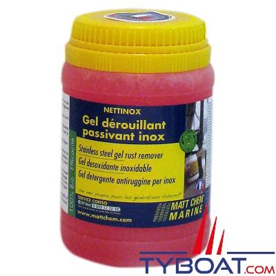Matt Chem Marine - NETTINOX - Gel dérouillant nettoyant passivant inox - 300 gr