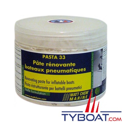 Matt Chem Marine - PASTA 33 - Pate rénovante pour bateau pneumatique - 500 ml