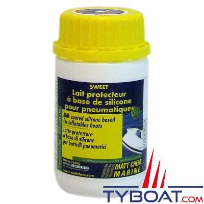 Matt Chem Marine - SWEET - Lait protecteur pour pneumatique à base de silicone - 125 ml