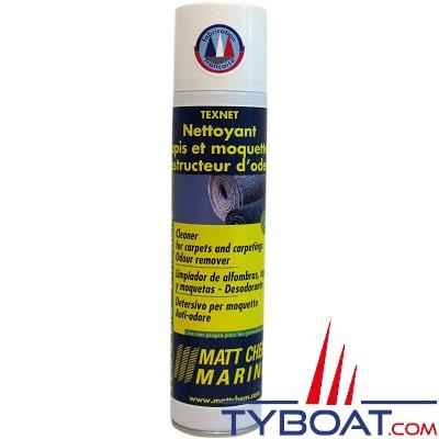 Matt Chem Marine - TEXNET - Bio-nettoyant moquette destructeur odeur - 300 ml