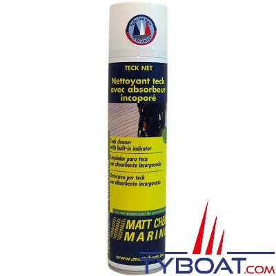 MATT CHEM - TECK NET - Nettoyant Teck avec absorbeur incorporé - Aérosol 200ml