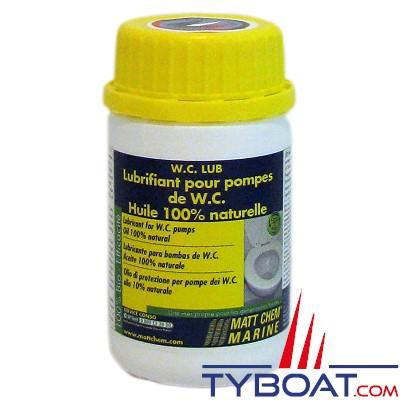 MATT CHEM - WC LUB - Huile de protection pour WC - 125 ml