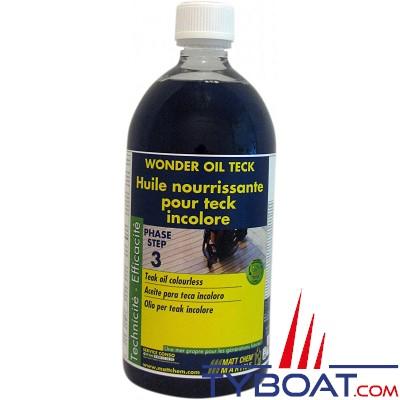 MATT CHEM - WONDER OIL - Huile pour teck - Incolore - 1 litre