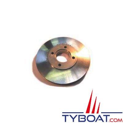 Poulie d'alternateur compatible Yanmar KM2 Aluminium  Ø 200 mm