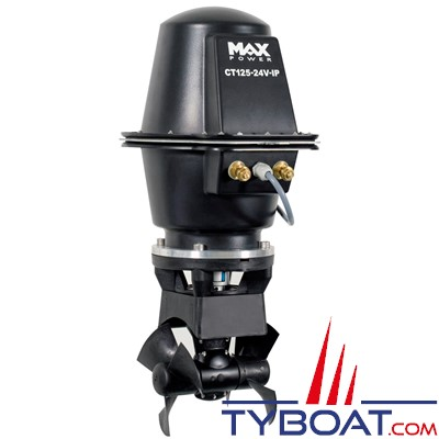 MAX POWER - CT125-IP Propulseur d'étrave électrique anti-déflagrant11.5cv Ø185mm 24v
