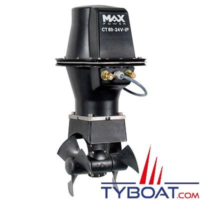 MAX POWER - CT80-IP Propulseur d'étrave électrique anti-déflarant 6.4cv Ø185mm 12V