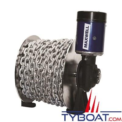 Maxwell - Treuil Tasman 8-6 - 1000 Watts - 12 Volts - 1000 Kg