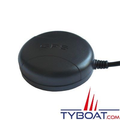 MC Marine - Antenne GPS active GP-01 USB - 167 canaux Sky Traq Venus 8