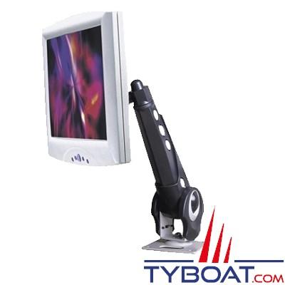 MC-9030 - Pied de fixation articulé VESA pour écran 15'' et 17''.
