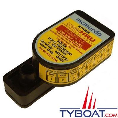 MCMURDO - Largueur hydrostatique pour balise de détresse automatique - E3 / G4 / E5-A / G5-A