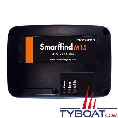 Récepteur AIS MC Murdo SmartFind M15 interface NMEA0183 / USB