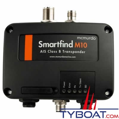 Émetteur récepteur AIS MC Murdo SmartFind M10 classe B interface NMEA0183 / NMEA2000 / USB