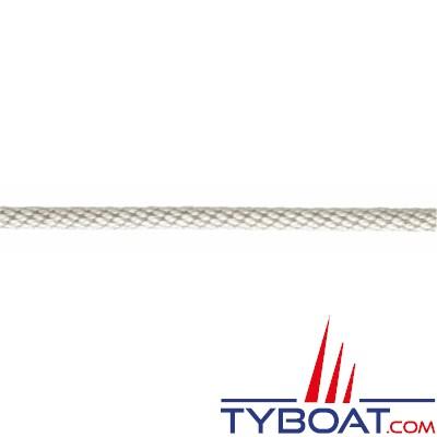 Meyer-Sansboeuf - Tresse hélicoidale Heli en polyester multifilaments 12 fuseaux haute ténacité Ø 4mm - Blanc - 100 mètres