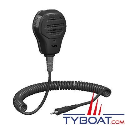 Microphone / Haut-parleur externe submersible MH73A4B pour VHF Standard Horizon tous modèles HX sauf 280E/HX300E