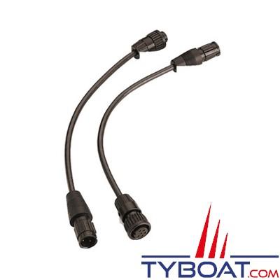 MINN KOTA - MKR-US-5 Câble adaptation Lowrance prises grises