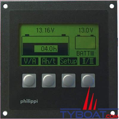 Moniteur de batterie Philippi BCM1