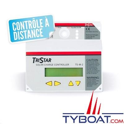 Morningstar -  Panneau de contrôle à distance et datalogger pour régulateur Tristar - solaire / éolien - 12/24 et 48 volts