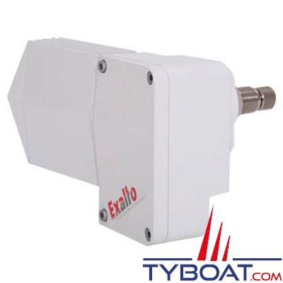 Moteur essuie-glace Exalto Marine Wipers 215 BD 12 Volts - masse isolée - (pour cloison 40-65mm)