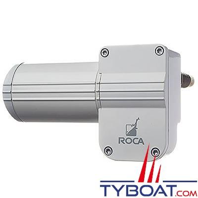 Roca W12 - 533025 - Moteur pour essuie-glaces étanche IP65 2 vitesses 60° 12 Volts arrêt à gauche (masse isolée)