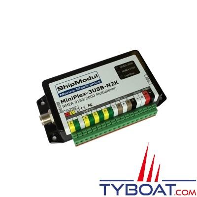 SHIPMODUL - Multiplexeur MiniPlex - 3USB-N2K