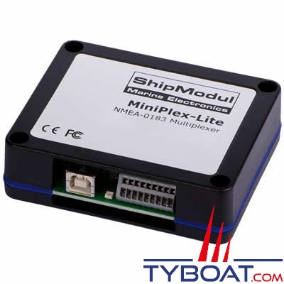 SHIPMODUL - Multiplexeur MiniPlex-LITE - NMEA0183 - USB