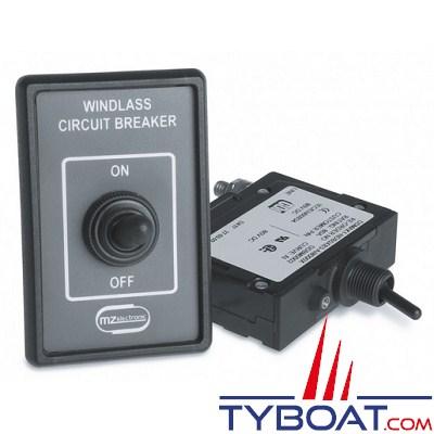 MZ ELECTRONICS - Disjoncteur 50 Ampères pour guindeaux 500 Watts